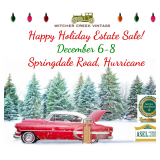 Join Us For A Wonderful Holiday Estate Sale! Time Capsule Shopping Event!