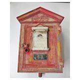 Antique Fire Alarm Box Salvaged From WWII Prison Camp