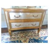 Fabulous Mirrored Two-Drawer Chest