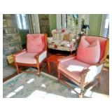 Twin Pair Library Armchairs