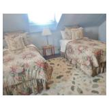 Ralph Lauren Bedding Sets & Large Room Rug With Botanical Motif