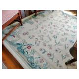 Gorgeous Room Size Floral Rug