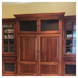 Gorgeous Large Solid Cherry Entertainment Armoire