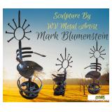 Our Featured Piece-Steel Sculpture By WV Artist Mark Blumenstein