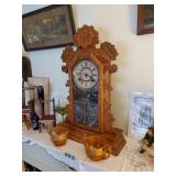 Ansonia Gingerbread Mantle Clock