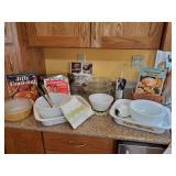 Pyrex & Cookbooks