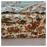 Vintage Sofa Bed W/Cover
