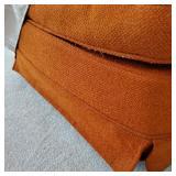 Vintage Orange Tweed Rocker