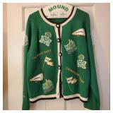 Vintage Marshall Applique Sweater
