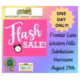 FLASH SALE!  Beautiful Hurricane Rancher Filled! It All Must Go In ONE DAY