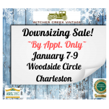 BY APPT ONLY! Join Us In South Hills For A January Downsizing Sale!
