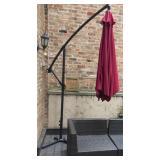 56.Cantilevered deck umbrella-$200