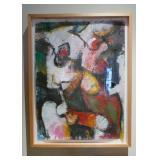 26.Jim Morphesis Woman oil -$2,200