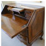 18th C. Walnut Secretary desk.