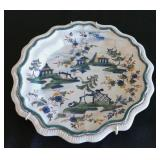 One of 3 Antibon plates,18th. C. 8""