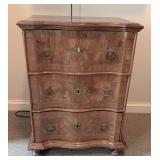 Italian Antique Walnut Dresser with pull-out kneeler