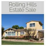 Rolling Hills Estate Sale