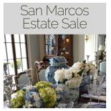 San Marcos Estate Sale