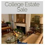 College Estate Sale