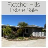 Fletcher Hills Estate Sale
