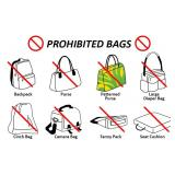 No Bags Allowed