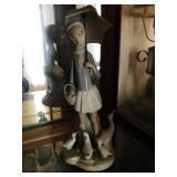 LLadro - Girl with Geese #4510