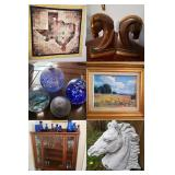 DEAL'S Horse Decor, Horse Trailer, Chevy Pickup in Anna Estate Sale