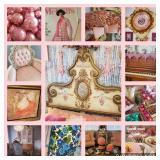 A Vintage Pink Pastel Home