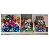 Christmas bows/bags/paper