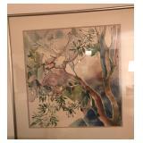M. Sides Copus Framed Art