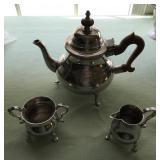 Stieff Pewter Tea Set