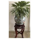 Oriental Planter & Stand