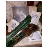 JAM PACKED LOWELL ESTATE SALE SUN JAN 28TH 9AM-2PM ANTIQUES VIOLIN COSTUME JEWELRY VINTAGE CLOTHING!