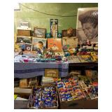 MONSTROUS SEEKONK ESTATE SALE AUG 10TH & 11TH ANTIQUES VINTAGE TOYS COLLECTIBLES SPORTS CARDS PACKED
