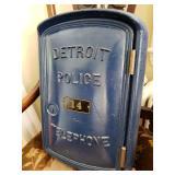 SMASHING NEEDHAM ESTATE SALE AUG 31ST ANTIQUES DETROIT POLICE CALL BOX NORM ABRAMS WORKSHOP TOOLS!!