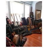 TERRIFIC TREASURE HUNTERS PAWTUCKET RI ESTATE SALE AUG 29TH & 30TH ANTIQUES MUSICAL INSTRUMENTS PLUS