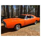 BLOCKBUSTER BERLIN ESTATE SALE APRIL 9TH,10TH ANTIQUES GALORE RARE 1970 & 1971 DODGE CHARGERS TOOLS!