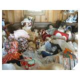 Very Large Doll Collection!