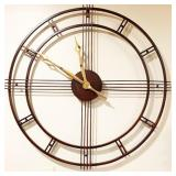 Lot 039  Decorator Wall Clock