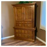 Lot 113  Ashley Furniture Armoire