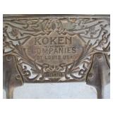 Koken Companies Barber Chair