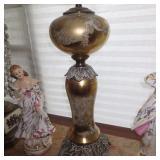 MURANO GOLD FLECK LAMP