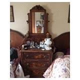 Rococo Chest with Mirror