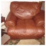 So Comfortable Leather Tufted Chair for any room