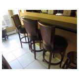 3 Swivel Counter Seating