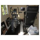 Health Rider Elliptical Folding Treadmill More Exercise Needs