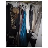 Fur Coats/Clothing/Shoes Size 8/Handbags
