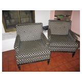 GEORGE KEMPLER CHAIRS PAIR