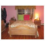 PINE BEDROOM QUEEN SPOTLESS COMPLETE
