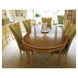 STUNNING FRENCH DINING ROOM SUITE